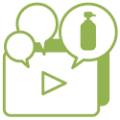 自社商品やサービスの価値をうまく伝えるコンテンツ(動画など)を作りたい